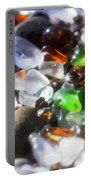 Seaglass Background Portable Battery Charger