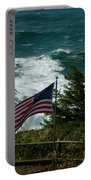 Seagull And Flag Portable Battery Charger