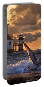 Seagull Takeoff - Tiscornia Beach  Portable Battery Charger