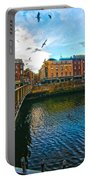 Seagulls Over Liffey Portable Battery Charger