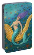 Seahorse Mermaid Portable Battery Charger