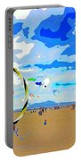 Seal Beach Kite Fly Portable Battery Charger