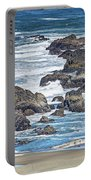 Seal Rock Seascape Portable Battery Charger