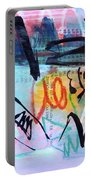 Seascape Abstract Portable Battery Charger
