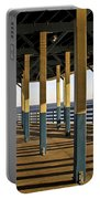 Seascape Walk On The Pier Portable Battery Charger