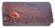 Seashell On The Beach, Lovers Key State Portable Battery Charger