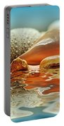 Seashell Reflections On Water Portable Battery Charger