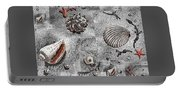 Seashells Collage Of Any Color Portable Battery Charger