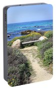 Seaside Bench Portable Battery Charger