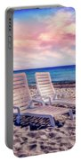 Seaside Chairs Portable Battery Charger