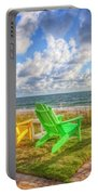 Seaside Invitation Portable Battery Charger