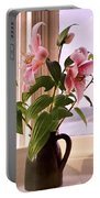 Seaside Lilies Portable Battery Charger