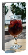 Seaside Sangria Portable Battery Charger