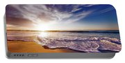 Seaside Sunset Portable Battery Charger