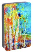 Seasonal Stream Of Consciousness Portable Battery Charger