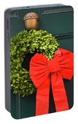 Season's Greetings From Boston Portable Battery Charger