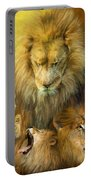 Seasons Of The Lion Portable Battery Charger