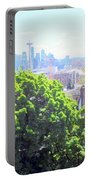 Seattle From A Hill Portable Battery Charger