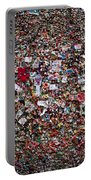 Seattle Gum Wall #2 Portable Battery Charger
