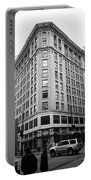 Seattle - Misty Architecture Bw Portable Battery Charger