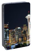 Seattle Night Sky Portable Battery Charger