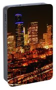 Seattle Night Traffic Portable Battery Charger