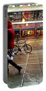 Seattle Rain Portable Battery Charger