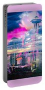Seattle Rose Portable Battery Charger