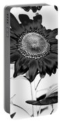 Seattle Sunflower Bw Invert - Stronger Portable Battery Charger
