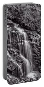 Secluded Falls - Bw Portable Battery Charger