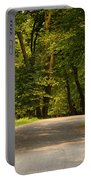 Secluded Forest Road Portable Battery Charger