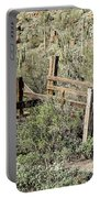 Secluded Historic Corral In Sonoran Desert Portable Battery Charger