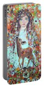 Second Chakra  Angel A Supernova Who Grew Up To Be Stardust Portable Battery Charger