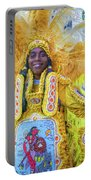 Second Line Nola _ Painted Portable Battery Charger