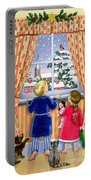 Seeing The Snow Portable Battery Charger by Lavinia Hamer