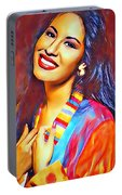 Selena Queen Of Tejano  Portable Battery Charger