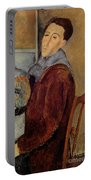 Self Portrait Portable Battery Charger by Amedeo Modigliani