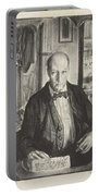 Self-portrait, First State By George Bellows 1882-1925 Portable Battery Charger