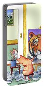 Self Portrait, Tiger Portable Battery Charger