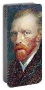 Self Portrait Vincent Van Gogh Portable Battery Charger