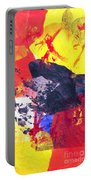 Semi-abstract Collage Portable Battery Charger