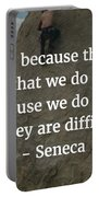 Seneca Quote Portable Battery Charger