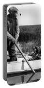 Senior Man Hunting Ducks, C.1920-30s Portable Battery Charger