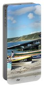 Sennen Cove Lifeboat And Pilot Gigs Portable Battery Charger