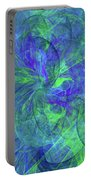 Sentimental Nature Abstract Portable Battery Charger
