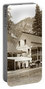 Sentinel Hotel And Ivy And River Cottages Circa 1895 Portable Battery Charger