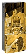 Sepia Toned Glass Slipper Portable Battery Charger