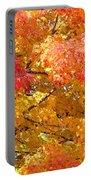 September Leaves Portable Battery Charger