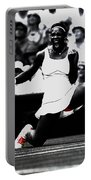 Serena Williams Victory Portable Battery Charger by Brian Reaves