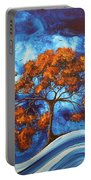 Serendipitous Original Madart Painting Portable Battery Charger